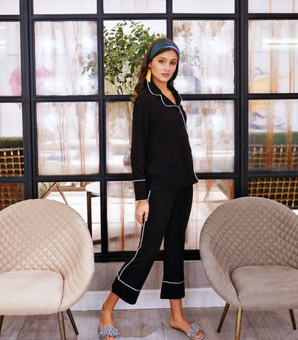 Pajama Set - Karmiel Blazer And Pants Set