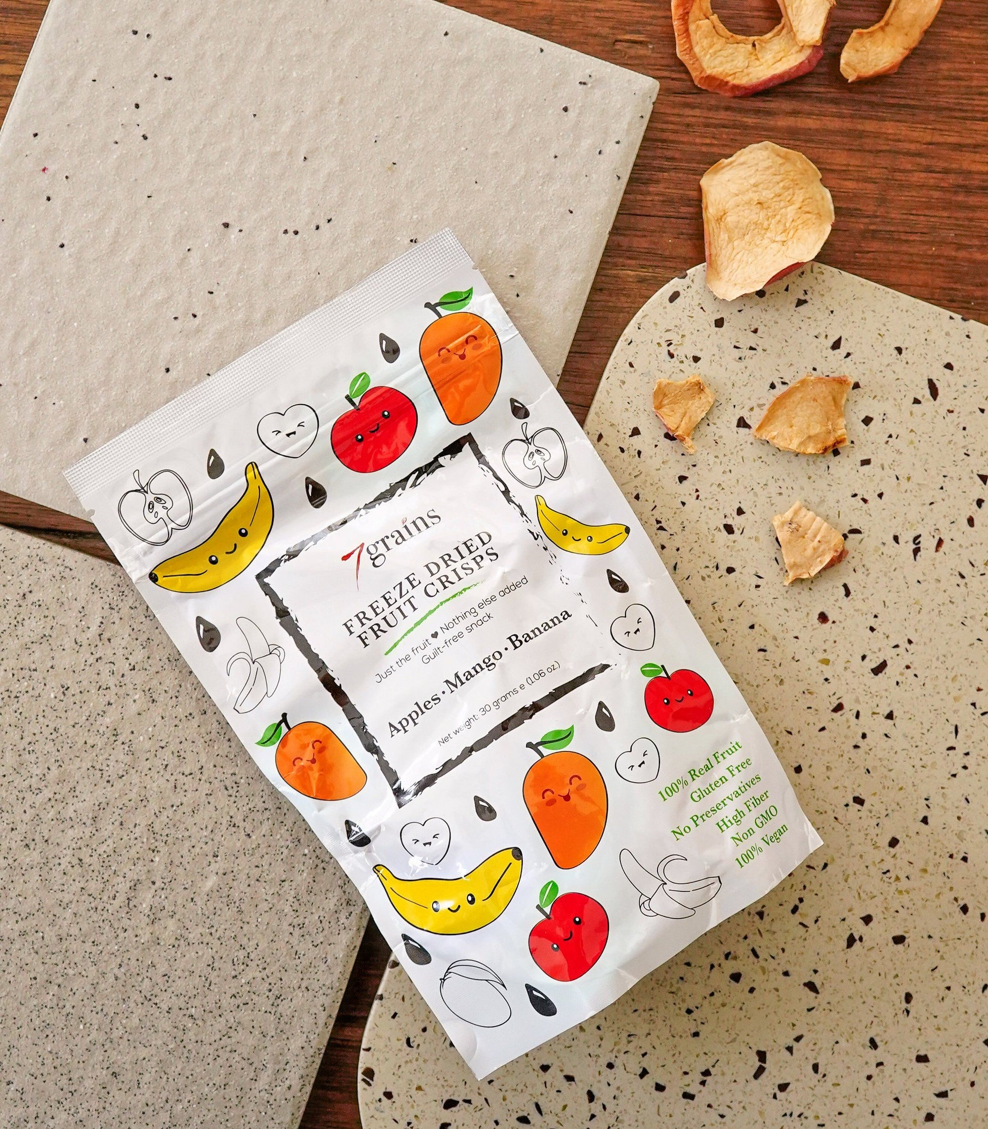 Freeze Dried Fruit Crisps