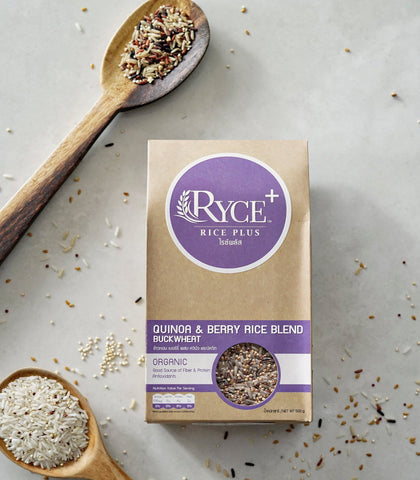 Pantry - RYCE+ Quinoa And Berry Rice Blend With Buckwheat