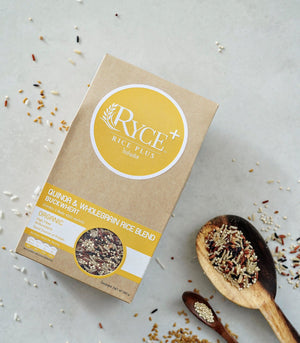 RYCE+ Quinoa and Whole Grain Rice Blend Buckwheat