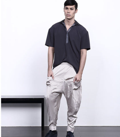 Pants - ANDROGYNE 005 | Drop Crotch Pants