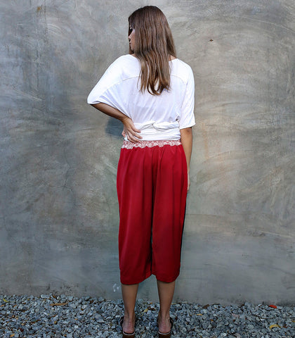 Pants - ANDROGYNE 017 | Reversible Culottes