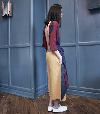 Pants - ANDROGYNE 022 | Culottes With Flap