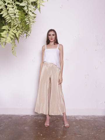 Pants - Jill Lao Angel Reversible Palazzo Pants