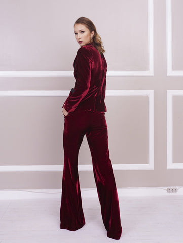 Pants - Jill Lao Reb Relaxed Flared Pant