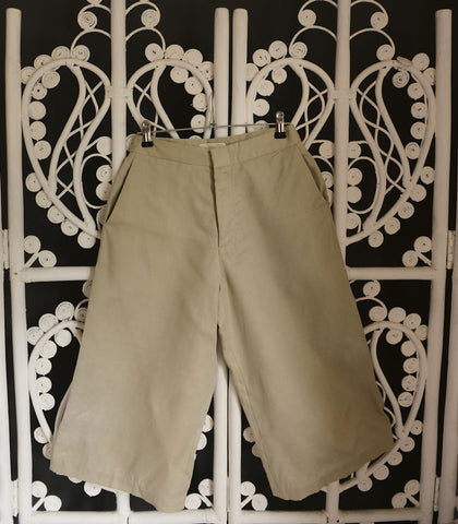 Pants - SAMPLE 072 | Beige High Waist Pants