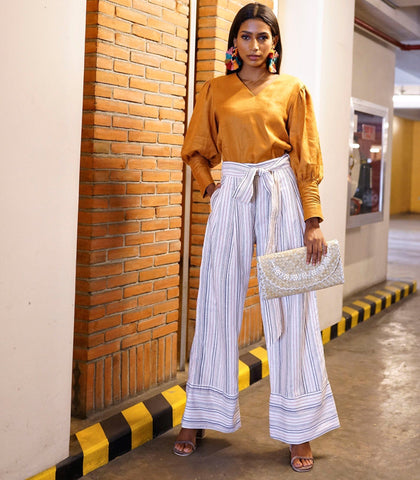 Pants - Senica Multi-Striped Pants