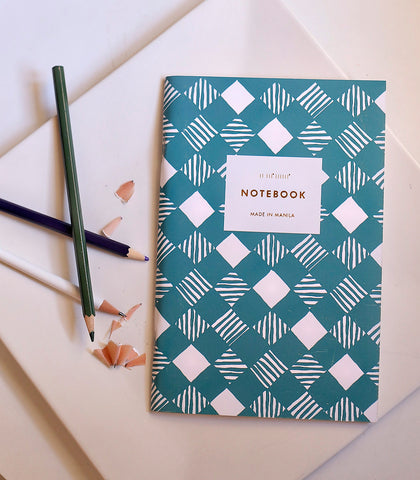 Paper - Basket Weave Teal Everyday Notebook