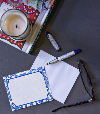Paper - Monogrammed Flat Correspondence Cards