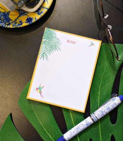 Paper - Monogrammed Small Note Pads