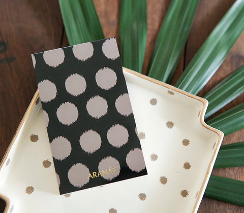 Paper - Polka Notepad With Cover