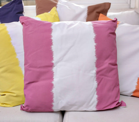 Pillow Cover - Ikat Stripe Pillow