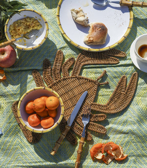 Placemat - Solano Lobster Wicker Placemat
