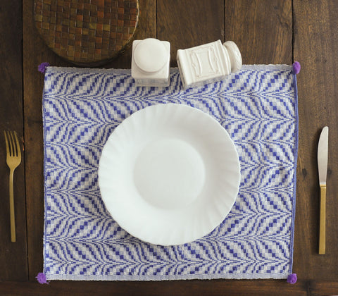 Placemats - Azrou Placemat Blue ( Set Of 4 )