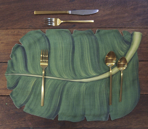 Placemats - Banana Leaf Placemat Set Of 4