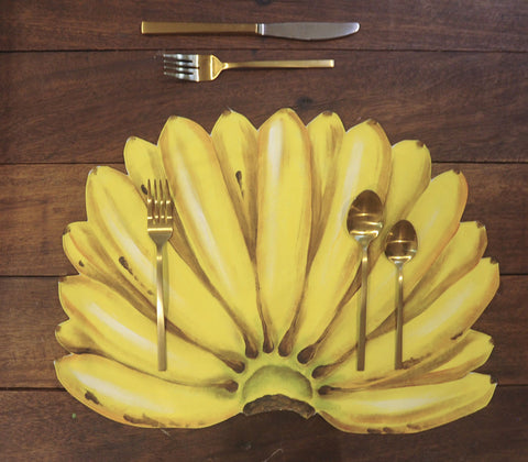 Placemats - Banana Placemats Set Of 4