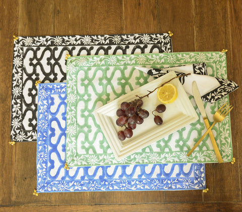 Placemats - Khelana Placemat & Napkin Set Of 6