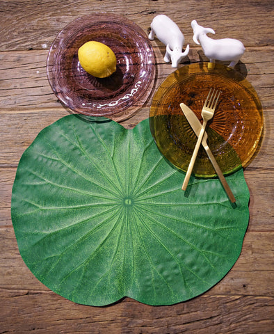 Placemats - Lotus Leaf Placemat (Set Of 4)