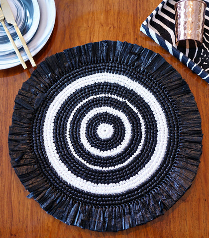 Placemats - Pachuca Straw Placemats - Set Of 4