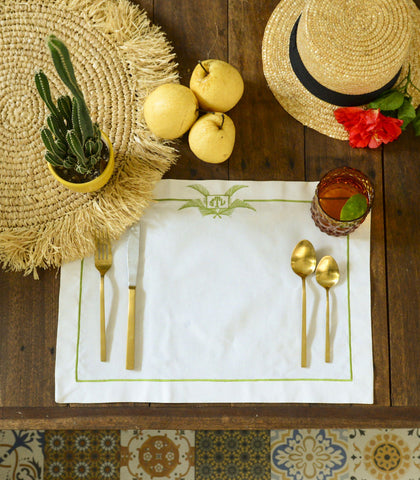 Placemats - Palmera Linen Placemats (Set Of 4)