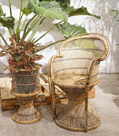 Planter - Radka Rattan Chair