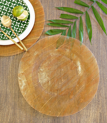 Plate Charger - Bauhinia Plate Charger