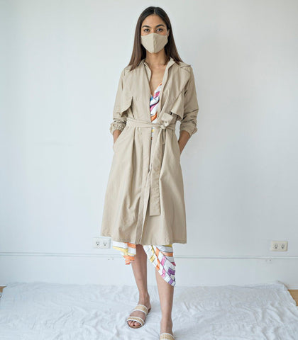 PPE - Bermejo Trench-Style Protective Coat