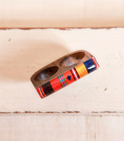 Ring - Dua Resin Two Finger Ring (Sur Tausag)