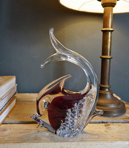 Room Decor - Murano Glass Fish Sculpture