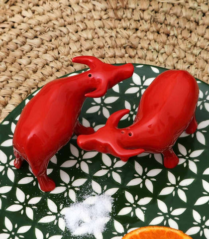 Salt & Pepper Shaker - Carabao Salt And Pepper