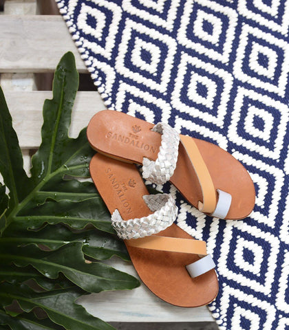 Sandals - Clio Leather Slides