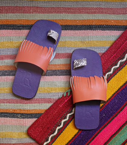 Sandals - Marley Toe-Ring Leather Sandals (STU Exclusive)