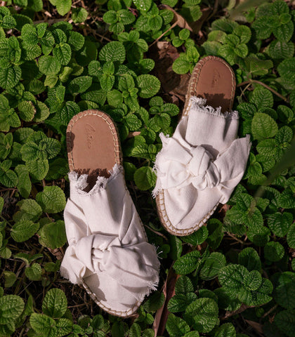 Sandals - Nairi Canvas Espadrille Slides