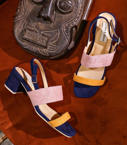 Sandals - Palermo Heeled Sandals -  Sunset (STU Exclusive)