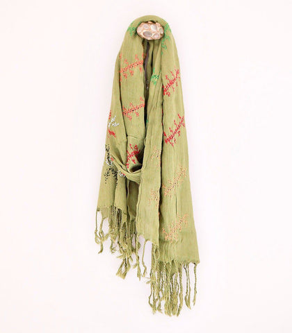 Scarf - T'Boli Embroidered Scarf