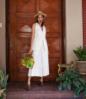 Luquillo Vest and Culottes Set
