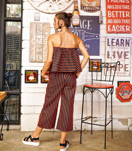Sets - Panaji Tube Top And Pants Set