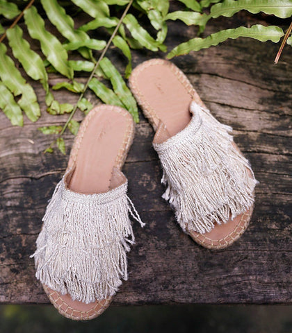 Shoes - Anahide Fringe Slides