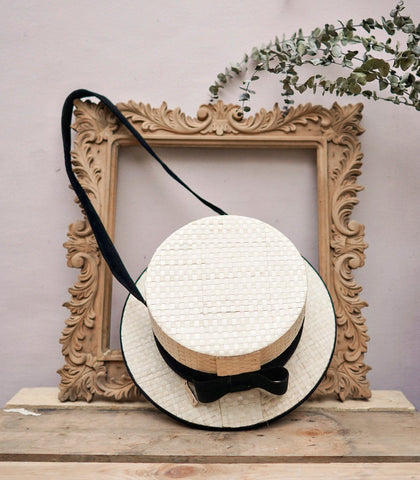Shoulder Bag - Le Chapeau Hat-Shaped Shoulder Bag