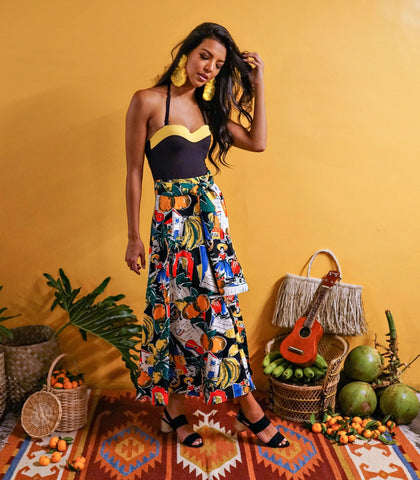Skirt - Cochabamba Printed Circle Skirt
