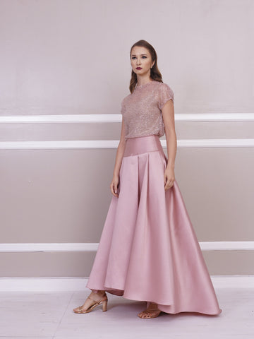 Skirt - Jill Lao Perry Pleated Evening Skirt