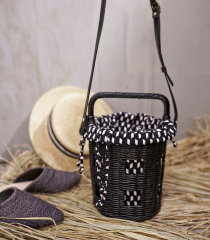 Sling Bag - Laura Wicker Basket Bag (2 Variants)