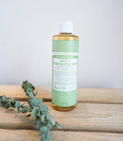 Soap - Dr. Bronner's 18-in-1 Pure Castille Hemp Soap