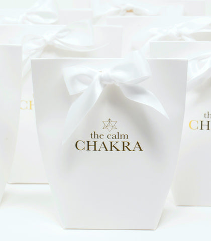 Spa & Wellness - Calm Chakra White Gift Box