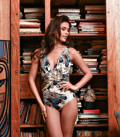 Swimwear - Escazu Ruched Maillot