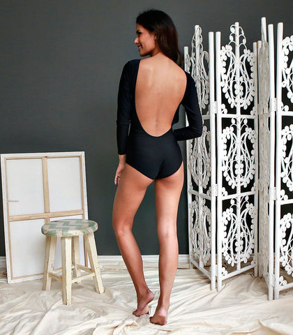 Swimwear - Escobal Open Back Maillot