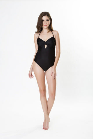Swimwear - Lyra Black Maillot