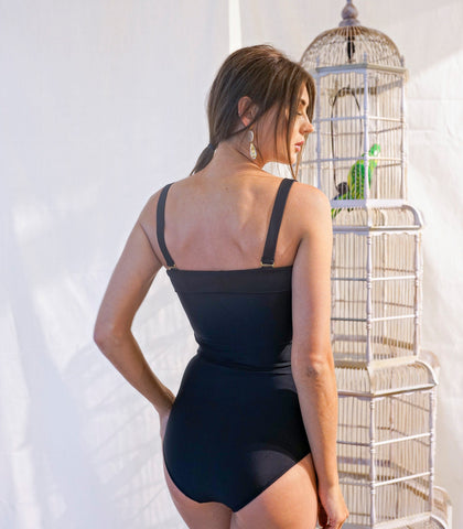 Swimwear - Negritas Swim Alessandra Tube Swimsuit With Removable Straps