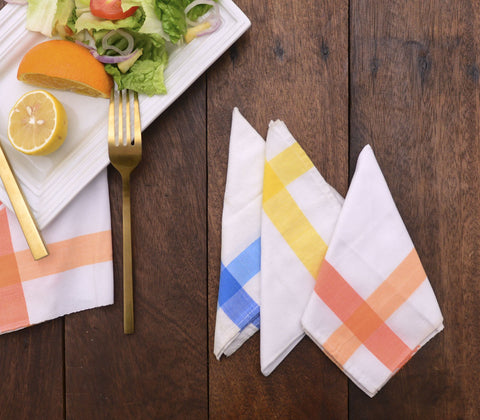 Table Napkins - Inabel Picnic Napkins ( Set Of 6 )