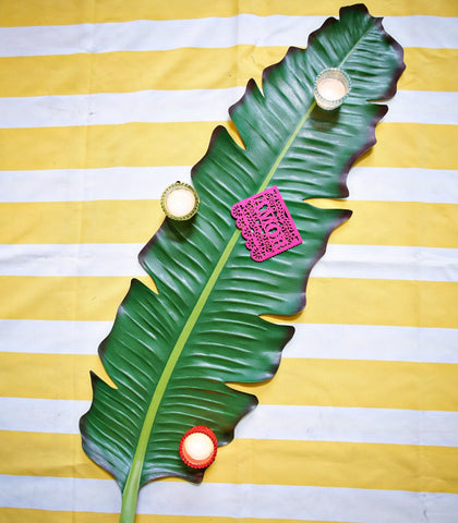 Table Runner - Balihai Leaf Table Runner